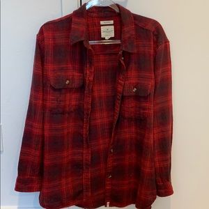 AE flannel button down Winter 2018 hardly worn